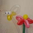ハチとお花